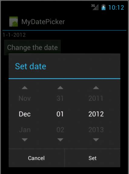 Android 4 - DatePicker, TimePicker, and Clocks - 2018