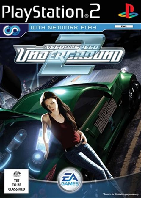Need for Speed Underground 2 PlayStation 2 Box Art Cover