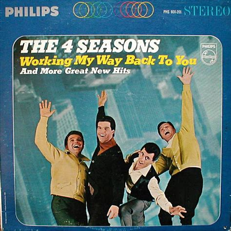 The 4 Seasons* - Working My Way Back To You (1966, Vinyl