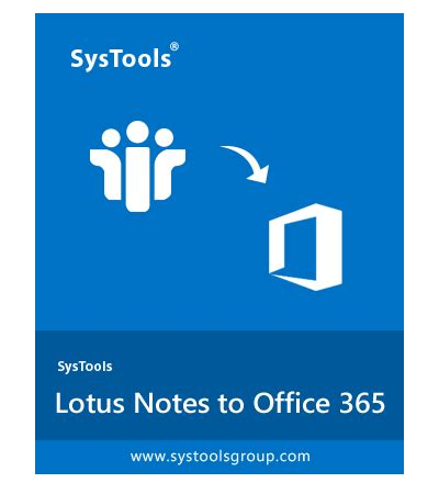 Lotus Notes to Office 365 Migration Tool – Import Domino