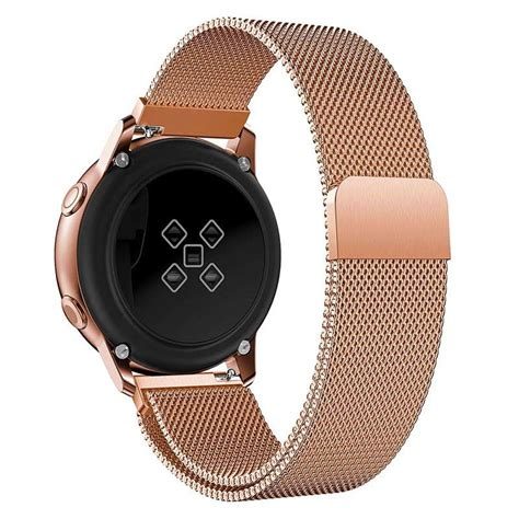 Samsung Galaxy Watch Active Magnetic Milanese Strap - Rose