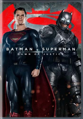 Batman v Superman: Dawn of Justice Official US Cover Art