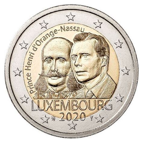Luxembourg 2 euros « Prince Henry » 2020