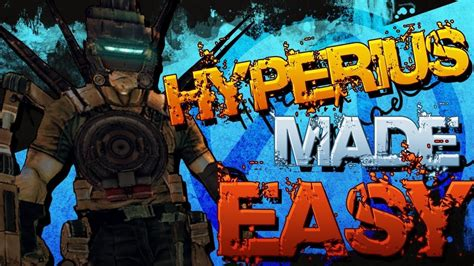 Borderlands 2 - Speedkilling OP8 Hyperius With Axton