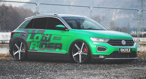 Slammed VW T-Roc Is Transformed From Crossover To