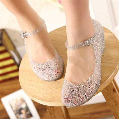 New Arrival Summer girls wedge jelly shoes beach