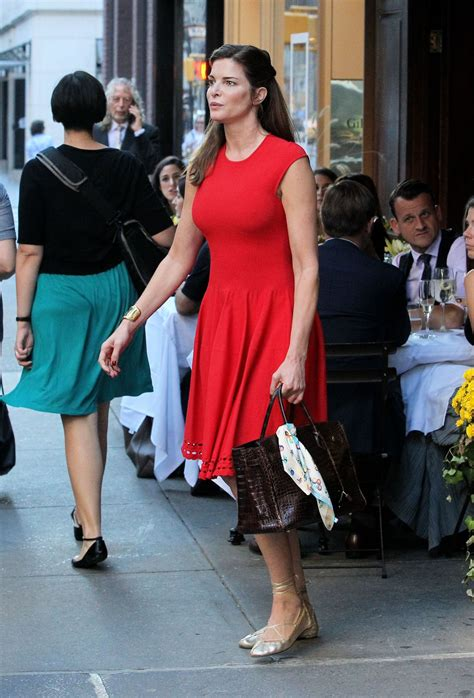 STEPHANIE SEYMOUR Iut and About in New York 10/18/2016