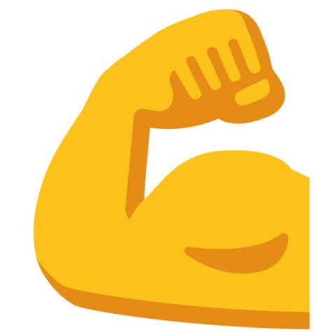 Biceps Contracté Emoji