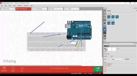 How to make sketches for Arduino Projects? (Using Fritzing
