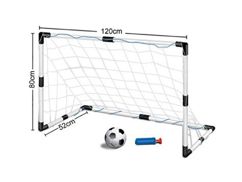 Childrens, Kids Football Goal Set - 1 Goals with Nets and