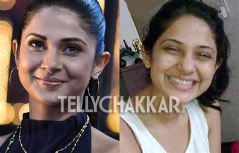 Television Actress with and without makeup - Famous People