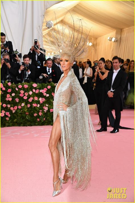 Celine Dion Makes a Grand Entrance for Her Second Met Gala