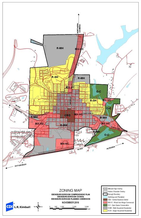 Zoning Map | Ebensburg Borough – EbensburgPa