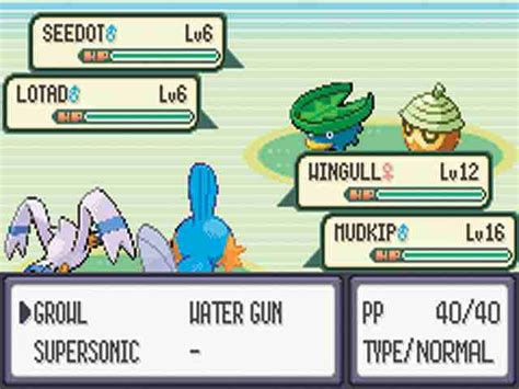 All Pokemon Emerald Screenshots for Gameboy Advance
