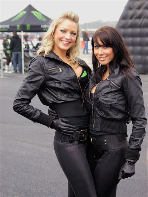 Monster Energy babes | PTS 2009 au Bourget