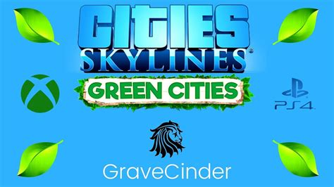 GREEN CITIES DLC   Cities Skylines   XBOX - PS4   Console