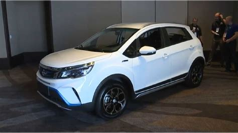 Kandi Unveils New Electric Car And SUV In
