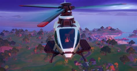 Fortnite patch adds helicopters that spawn on helipads