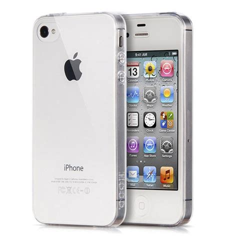 Portefeuille Crystal Clear Case For iPhone 4 S 4S