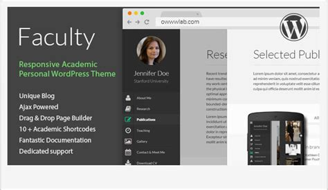 Top 10+ Outstanding WordPress Themes for Professors and
