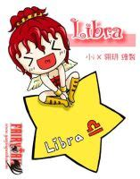Libra,fairy tail ,official card +key by icecream80810 on
